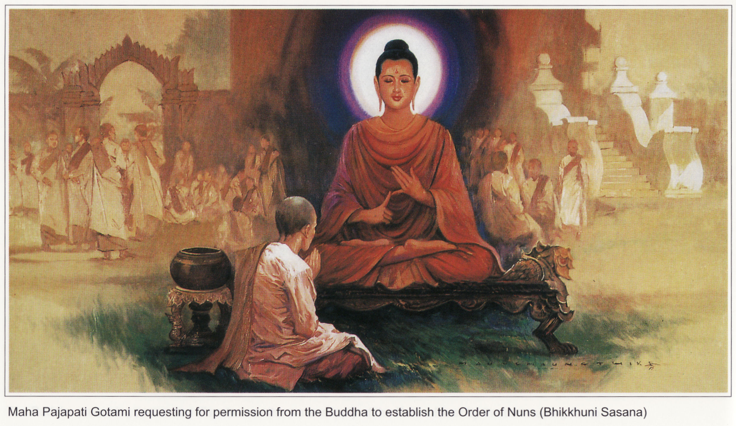 a biography of siddharta gautama the founder of buddhism Prince siddhartha sees 'four sights' that will help him find the meaning of life.