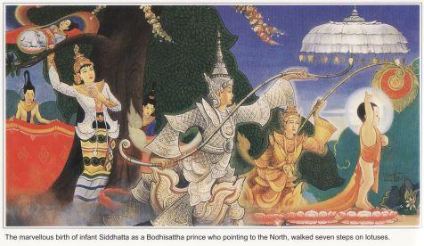 Life of Buddha (8)