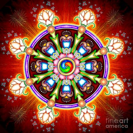 dharma-wheel-chakra-flower-dirk-czarnota